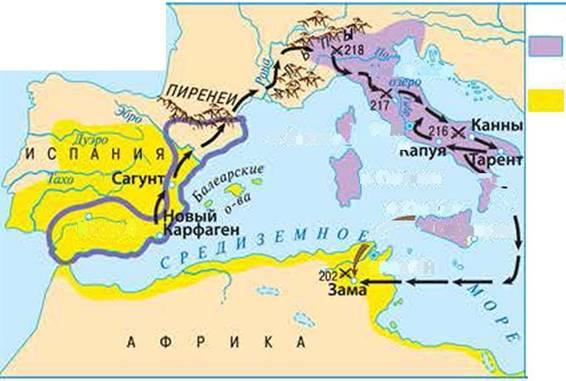 Реферат вторая война рима с карфагеном 7859